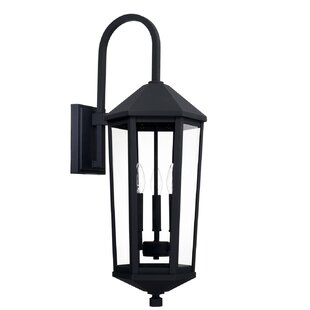 Great choice Drew 3-Light Outdoor Wall Lantern By Alcott Hill