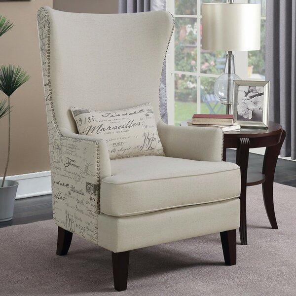 Waldschmidt Wingback Chair by Ophelia & Co.