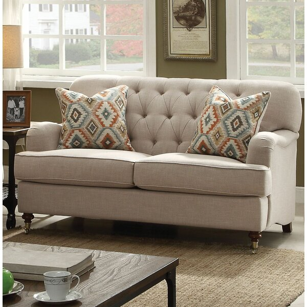 Dashing Collection Obrien Standard Loveseat by Canora Grey by Canora Grey