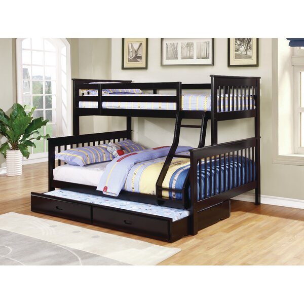 Ina Twin Over Full Platform Bed with Trundle by Viv + Rae