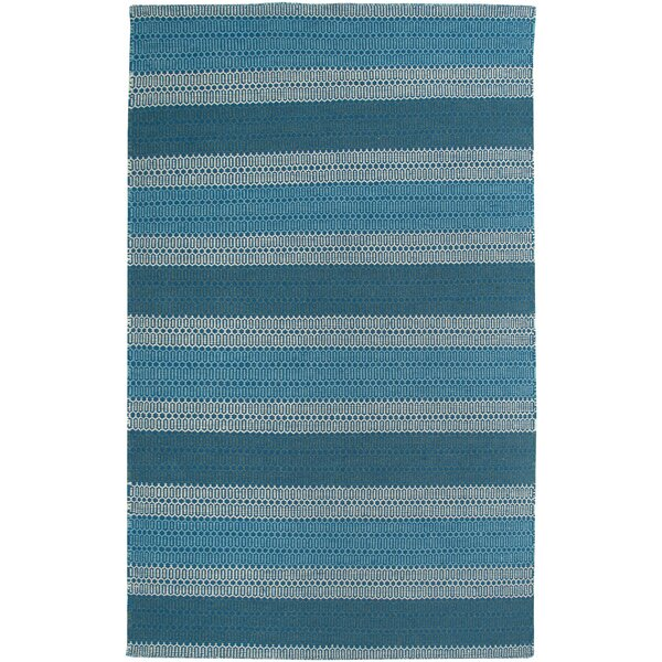 Hand-Woven Blue Area Rug by The Conestoga Trading Co.