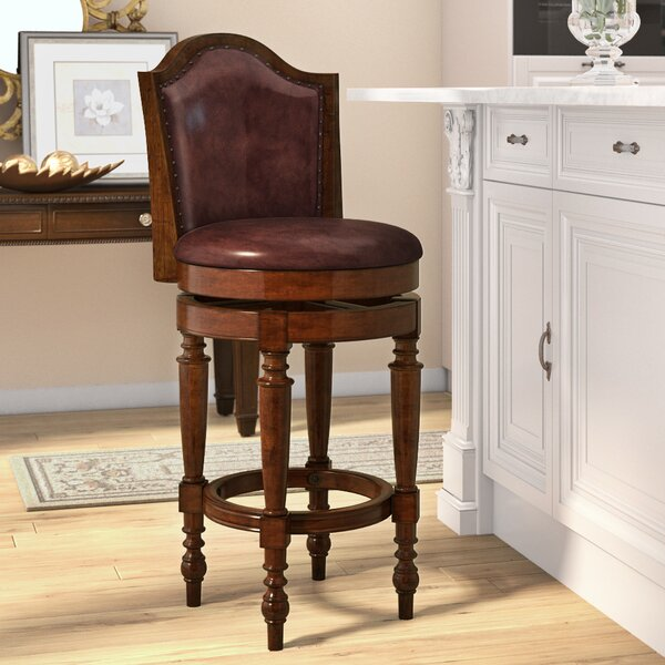 Milliner 30 Swivel Bar Stool by Astoria Grand