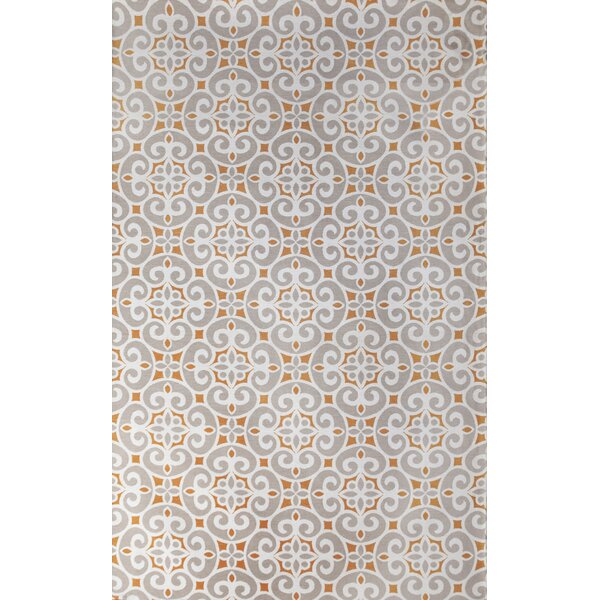 Kensington Hand-Woven Silver Indoor Area Rug by Tuft & Loom