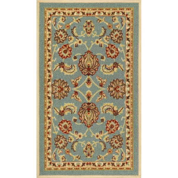Addieville Blue Area Rug by Charlton Home