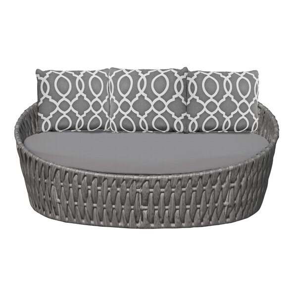 Horton Patio Daybed with Cushions by Bungalow Rose