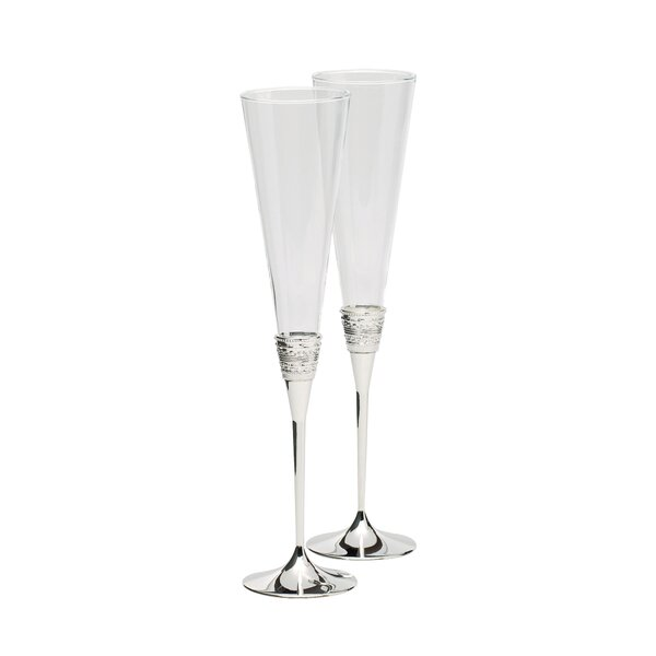 With Love Champagne Flute (Set of 2) by Vera Wang