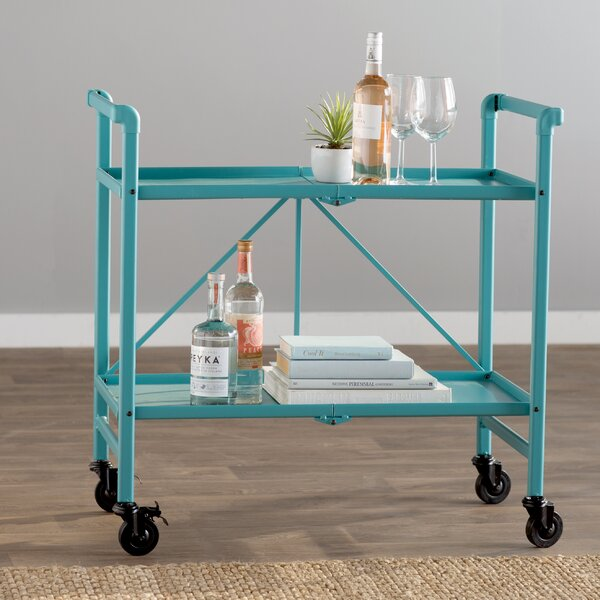 Bennett Bar Cart by Breakwater Bay