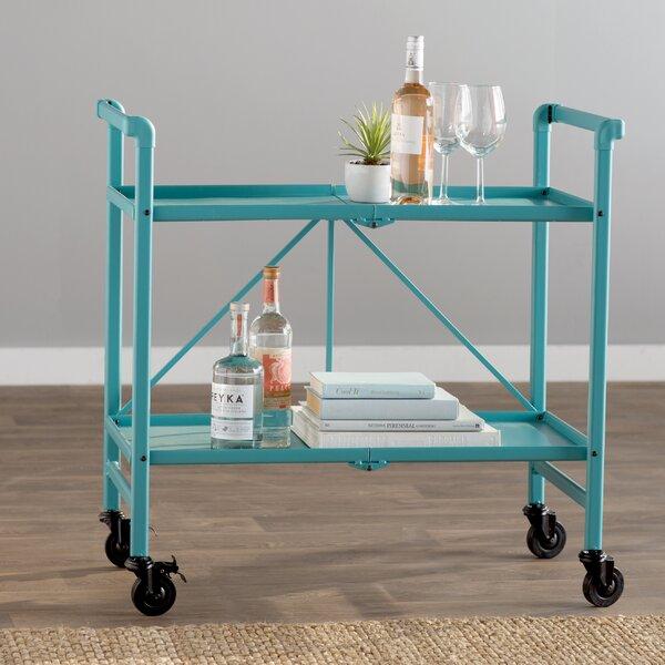 Bennett Bar Cart by Breakwater Bay