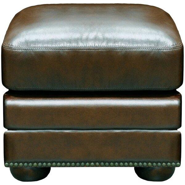 Savannah Ottoman by Omnia Leather