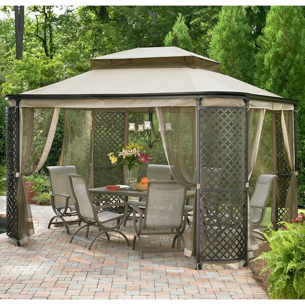 Replacement Canopy for Lattice Panel Gazebo by Sunjoy