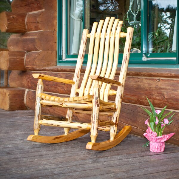 Abordale Rocking Chair by Loon Peak