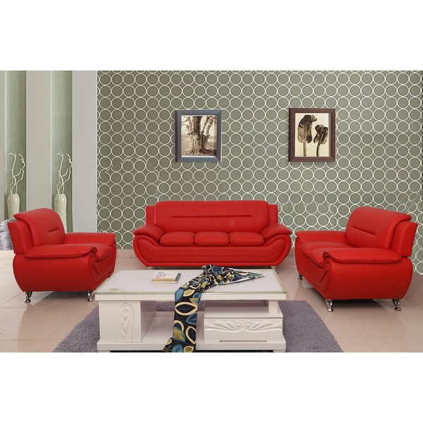 Nataly 3 Piece Living Room Set (Set of 3) by Orren Ellis