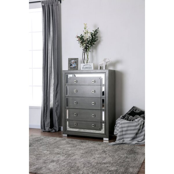 Verna 5 Drawer Chest by Rosdorf Park