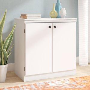 Preciado Contemporary 2 Door Storage Cabinet