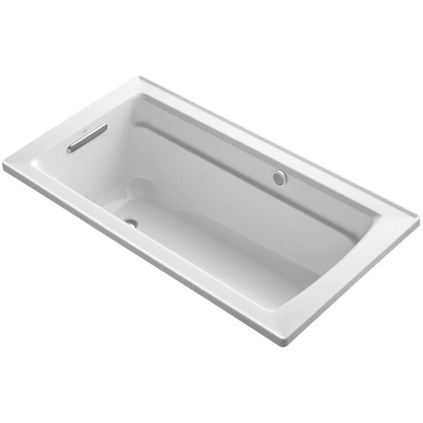 Archer Bubblemassage 60 x 32 Soaking Bathtub by Kohler