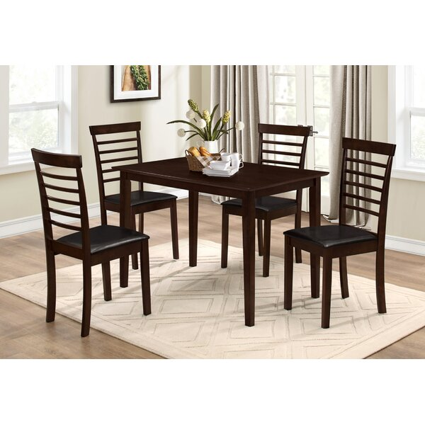 Mcclung 5 Piece Dining Set by Winston Porter Winston Porter
