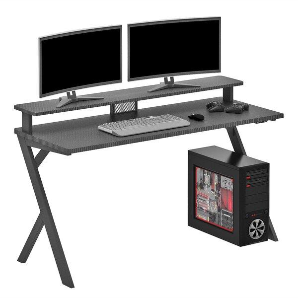 Eldon Gaming Desk with Hutch