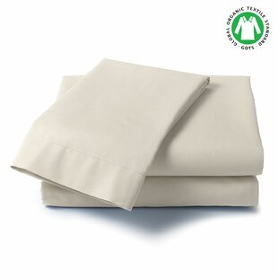 Shop Theon 300 Thread Count 100% Organic Cotton Solid Wrinkle Resistant Sheet Set By Alwyn Home