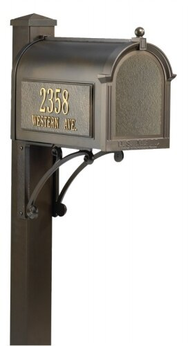 Superior Mailbox Package by Whitehall Products