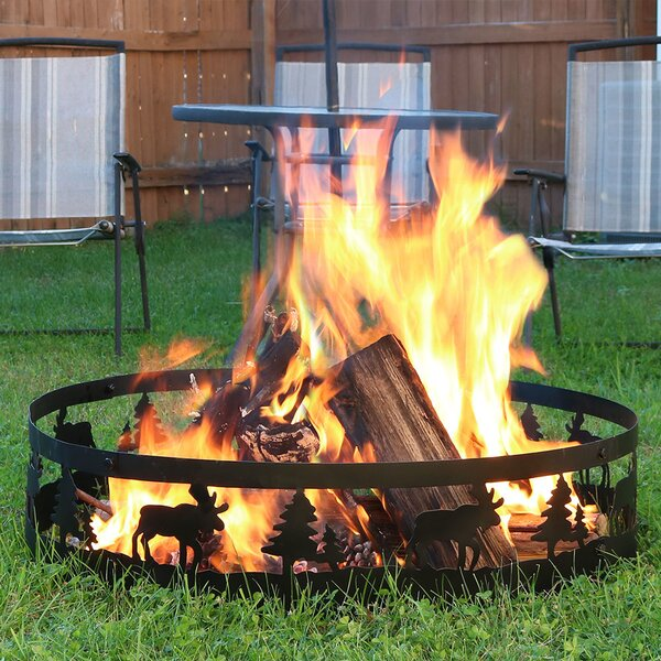 Steel Fire Ring by Wildon Home ®