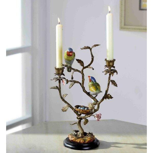 Creative Tree and Birds Candlebra by Westmen Lights