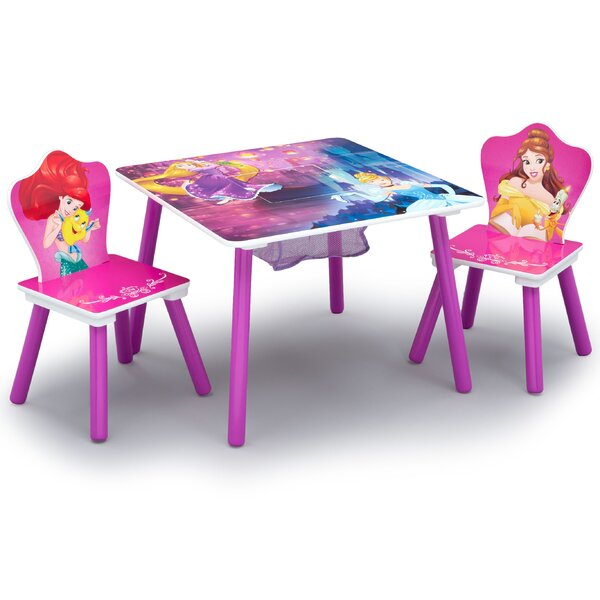 Disney Princess Arts and Crafts Table and Chair Set by Delta Children