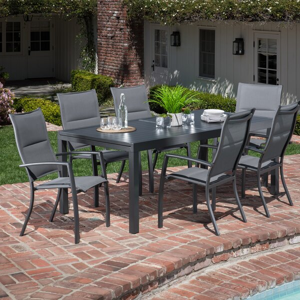 Liang 7 Piece Dining Set by Latitude Run