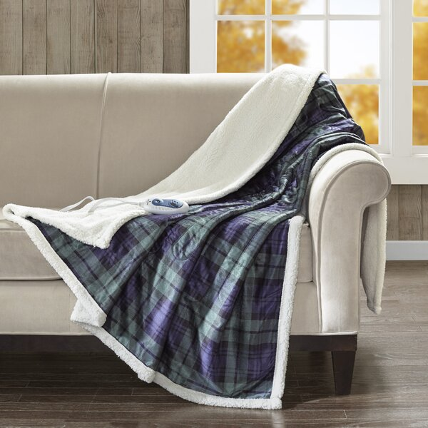 Brewster Oversized Heated Throw by Woolrich