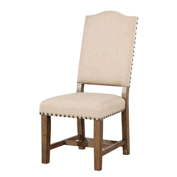 Upholstered Dining Chair (Set of 2) by Ophelia & Co.
