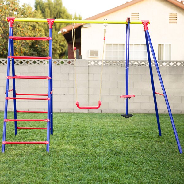 Burke Swing Set by Outward