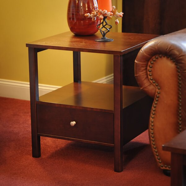 Bay Shore End Table by Wildon Home®