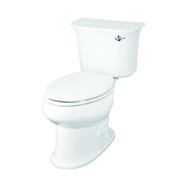 Stinson 1.28 GPF Elongated 2 Piece Toilet by Sterling by Kohler