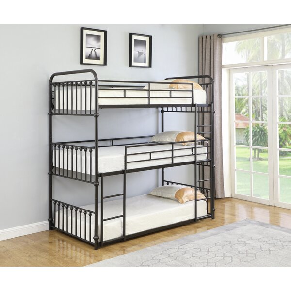 Marchetti Twin Over Twin Over Twin Triple Bed by Harriet Bee