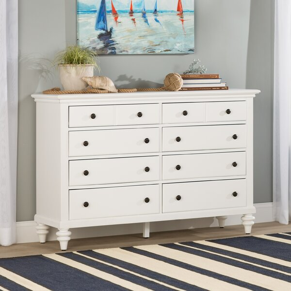 Harrison 8 Drawer Double Dresser by Beachcrest Home