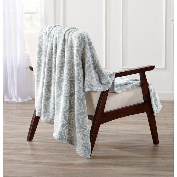 Kensley Ultra Velvet Plush Oversize Throw Blanket by Winston Porter