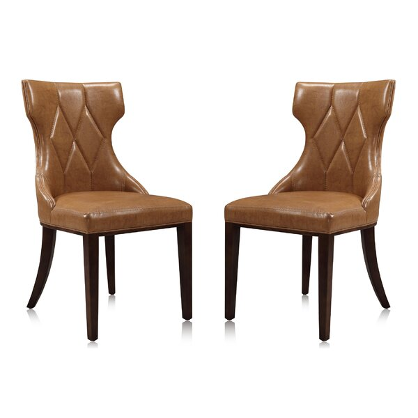 Sutherland Upholstered Dining Chair (Set of 2) by House of Hampton