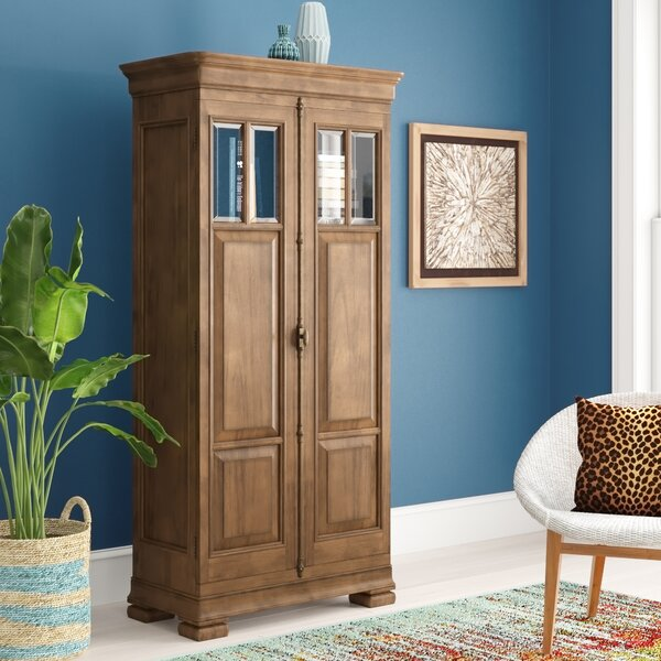 Mauritane 2 Door Tall Accent Cabinet by World Menagerie