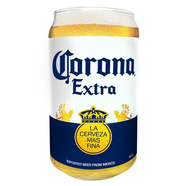 Corona Extra16 Oz. Glass (Set of 4) by Luminarc