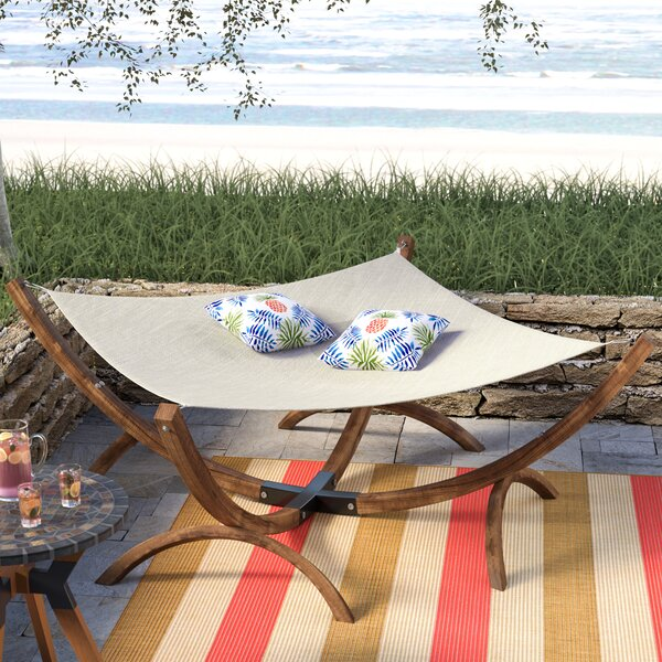 Arica Olefin Hammock with Stand by Beachcrest Home