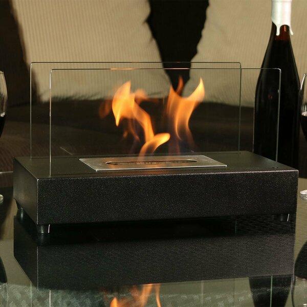 Simon Ventless Bio-Ethanol Tabletop Fireplace by Orren Ellis