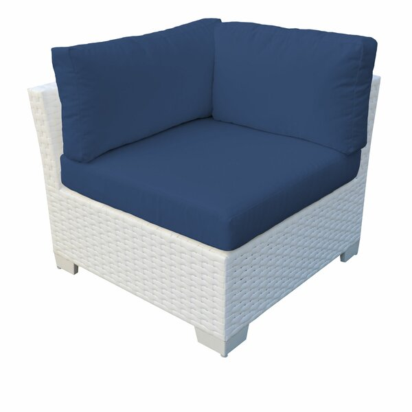 Monaco Patio Chair with Cushions (Set of 2) by TK Classics