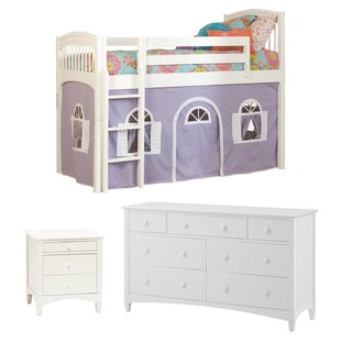 Bonneau Loft 8 Piece Bedroom Set By Harriet Bee