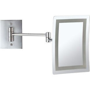 Led lighted wall mount mirror wayfair save to idea board aloadofball Image collections