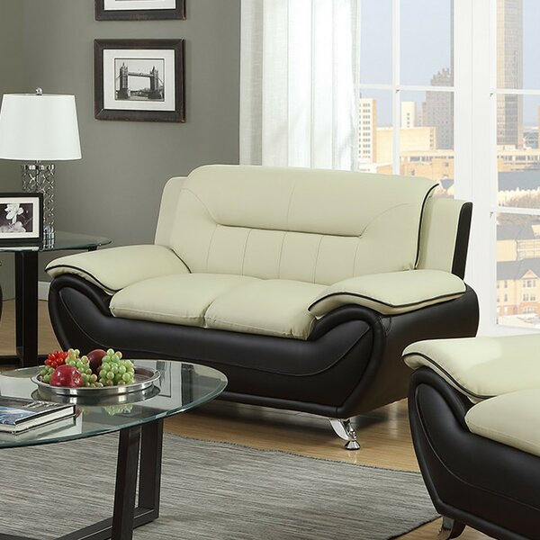 Stay On Trend This Nicollet Contemporary Loveseat New Seasonal Sales are Here! 55% Off