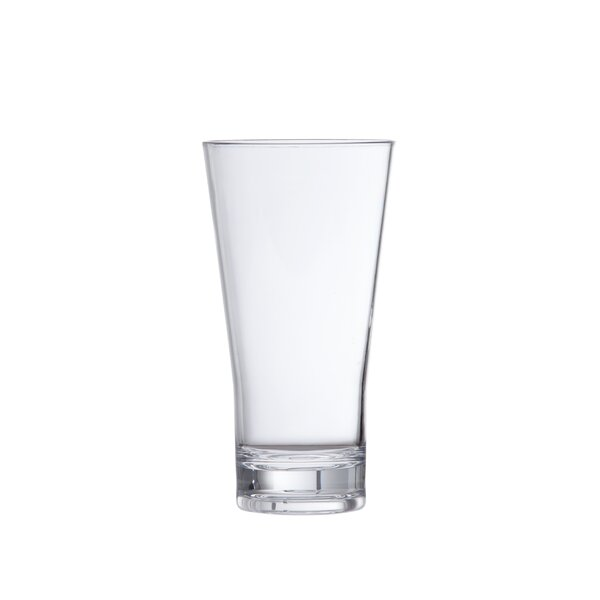 Iced Beverage 20 oz. Plastic Every Day Glass (Set of 6) by D&V