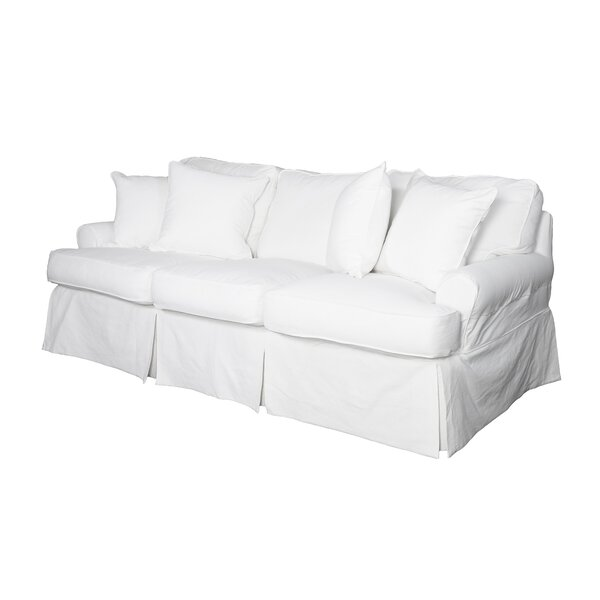 Coral Gables T-cushion Sofa Slipcover by Beachcrest Home