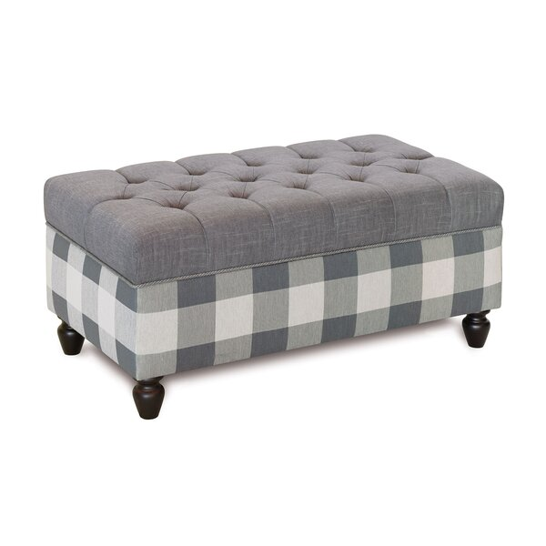 Fabric Upholstered Storage Bench by Eastern Accents