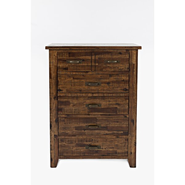 Athol 5 Drawer Chest by Three Posts