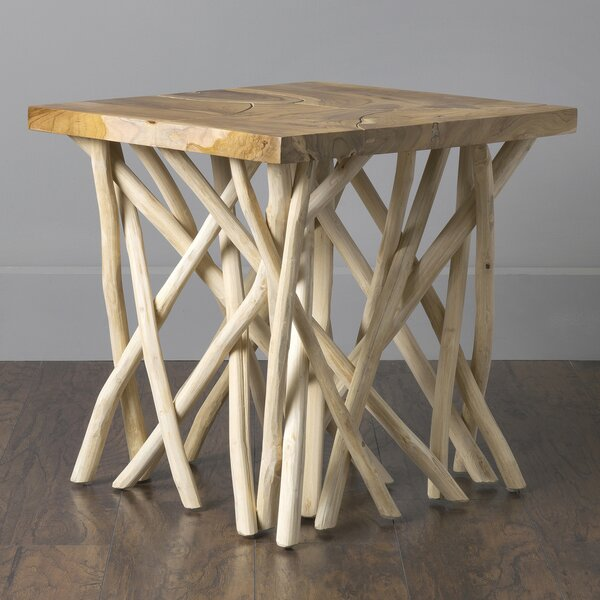 Erler End Table By Millwood Pines