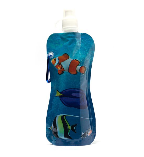 Ashita Fish Pocket Water Bottle by Highland Dunes
